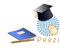 The Prezi educational logo