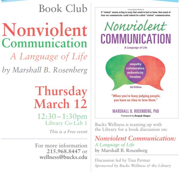 Nonviolent Comm book club